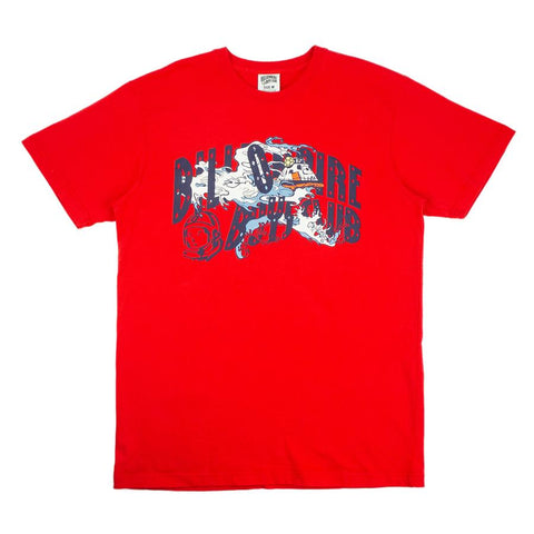 BILLIONAIRE BOYS CLUB T SHIRT RECOVERY RED