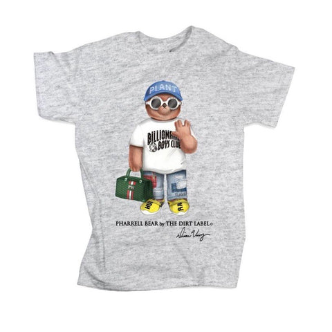 DIRT LABEL PHARRELL BEAR GREY - M1405