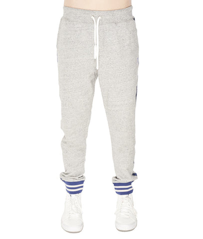 CULT OF INDIVIDUALITY VARSITY SWEAT PANT GREY