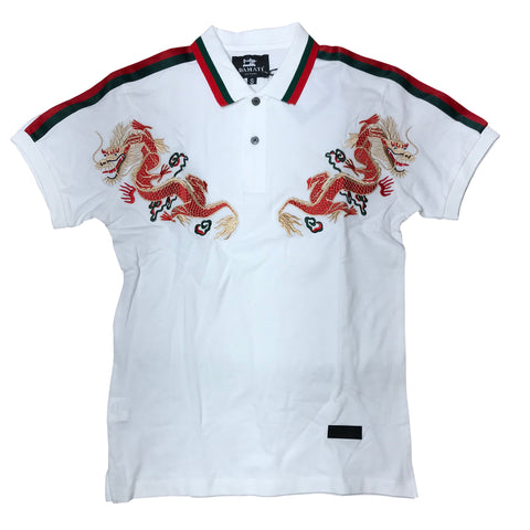DAMATI POLO SHIRT WHITE