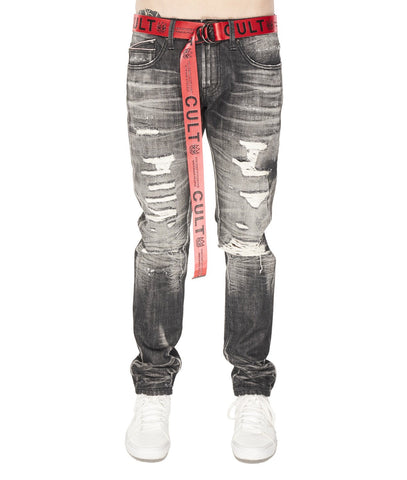 CULT OF INDIVIDUALITY JEAN ROCKER SLIM