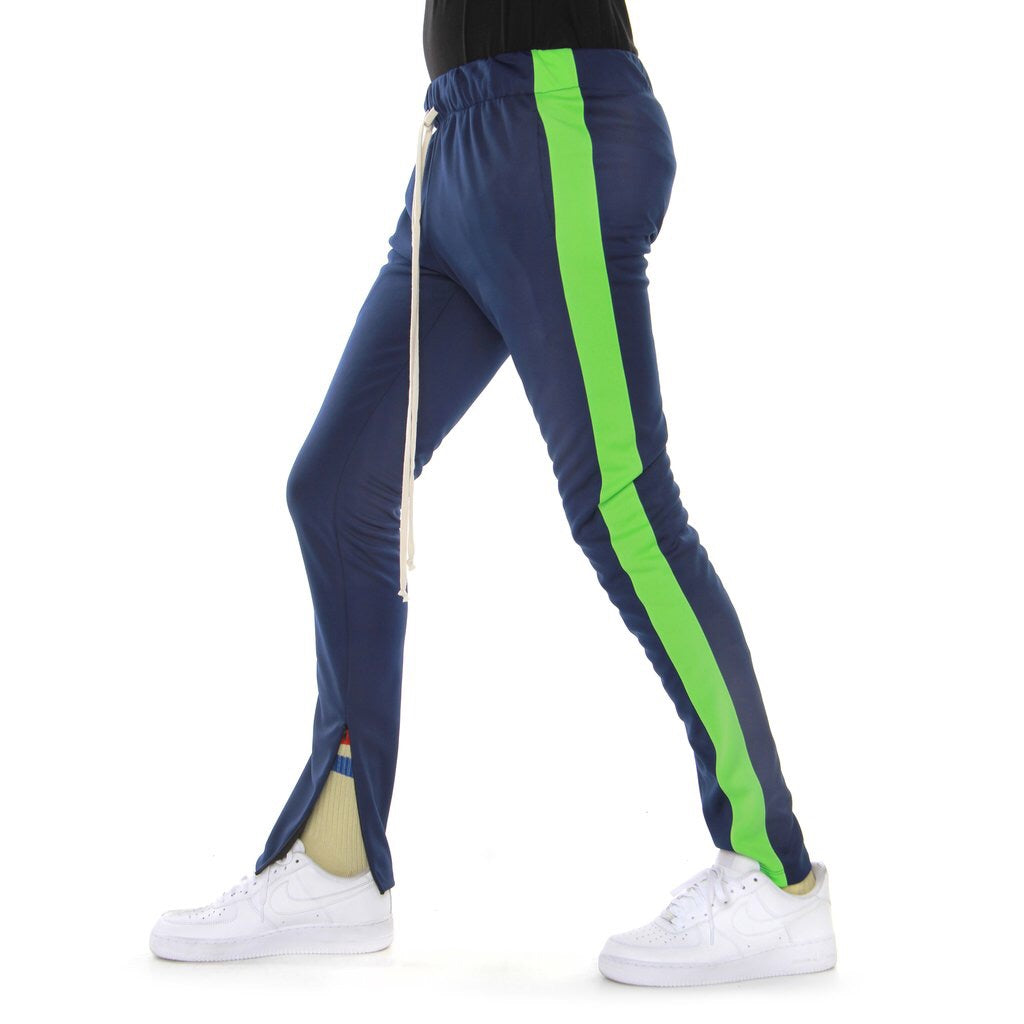 EPTM TEACK PANT NAVY/LIME EP8611