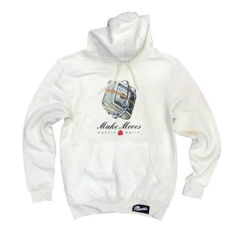 MUERTE HUSTLE DAILY MAKE MOVES HOODIE 56871