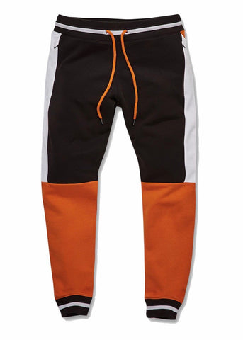 JORDAN CRAIG RICHMOND JOGGER SWEATPANTS - BLACK