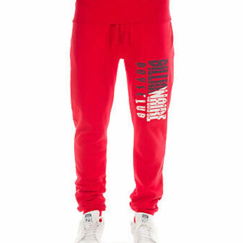 BILLIONAIRE BOYS CLUB SWEATPANT RED 891-2110