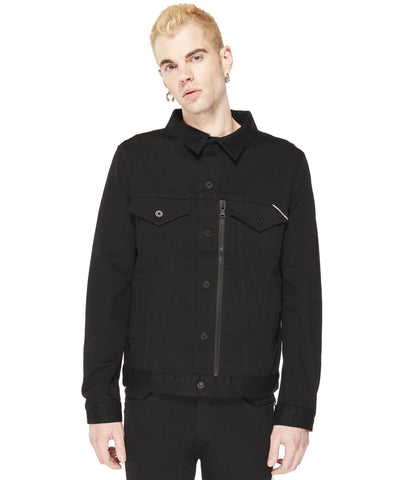 CULT OF INDIVIDUALITY JACKET FILLMORE BLACK