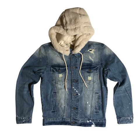 SMOKE RISE DENIM JACKET HAZEBL JJ9222