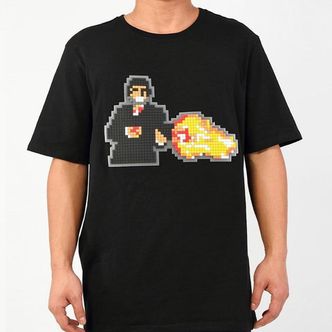 HUDSON TEE DIGITAL GUNNER BLACK