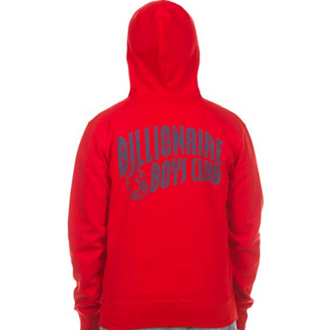 BILLIONAIRE BOYS CLUB HOODIE RED 881-8304