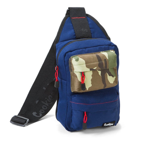 Cookies Smell-Proof Sling Bag Navy
