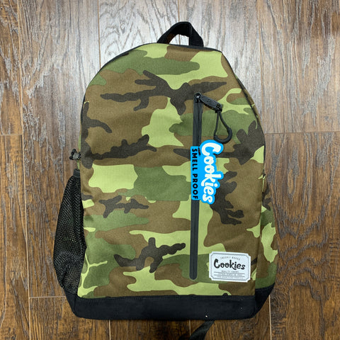 COOKIES BACK PACK SMELL PROOF COMMUTER CAMO