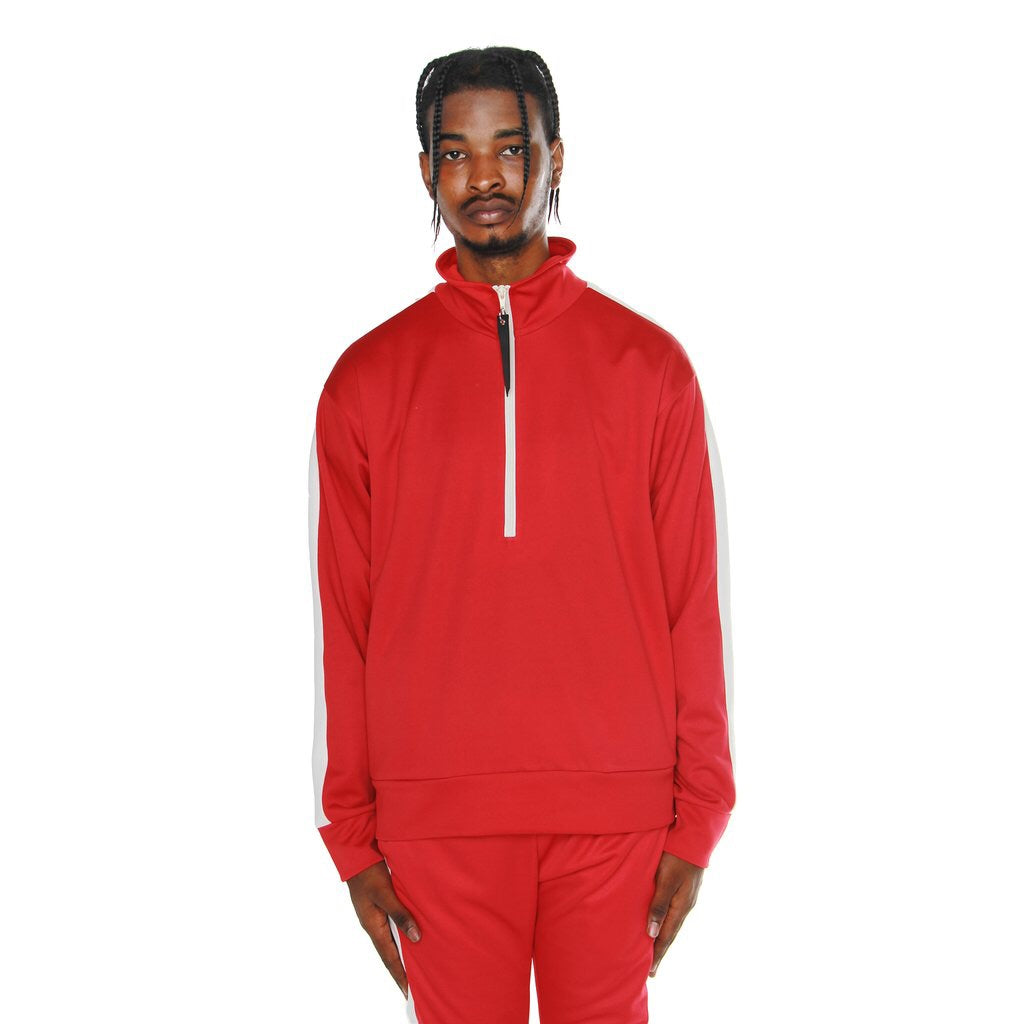 EPTM TRACK JACKET RED/WHT EP8531