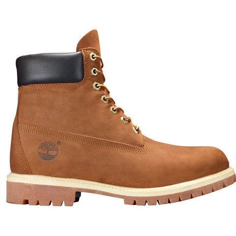 TIMBERLAND BOOT 6IN WATERPROOF NUBUCK RUST