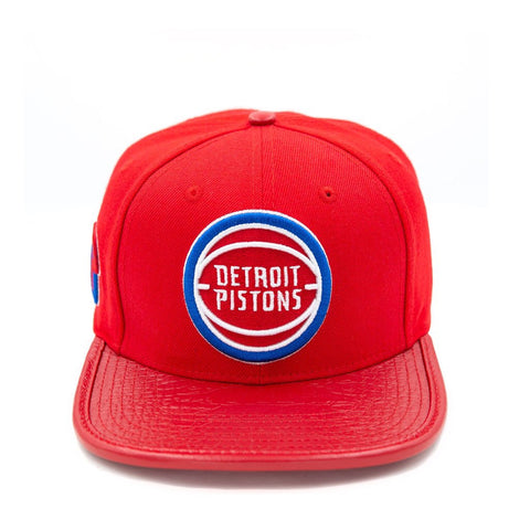 PRO STANDARD HAT DETROIT PISTONS RED PNDETB0824