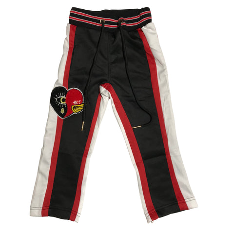 KIDS BKYS JOGGING SET - RED/BLACK