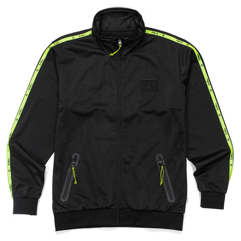 COOKIES POLY KNIT TRACK JACKET 1531O2895BLACK