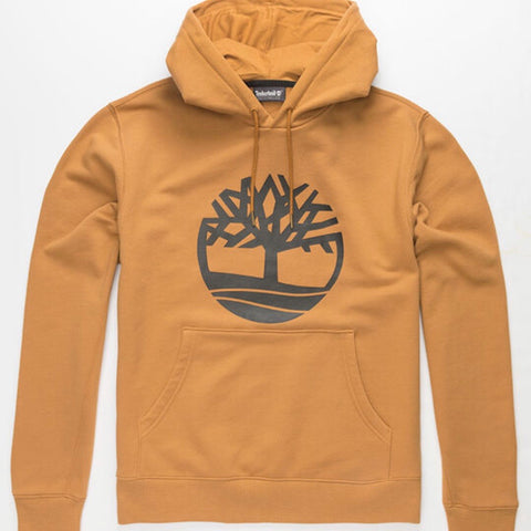 TIMBERLAND ESSENTIAL TREE LOGO HOODIE WHEAT