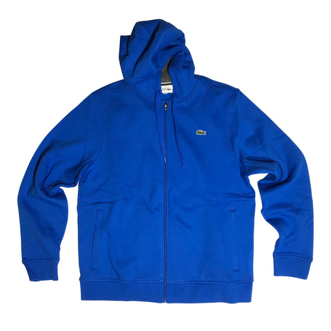LACOSTE HOODIE BLUE/ROYAL PITCH SH7609