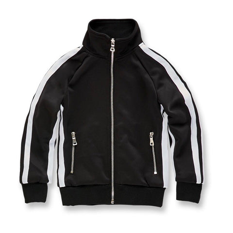 JORDAN CRAIG OXFORD TRACK JACKET - BLACK - 8333T