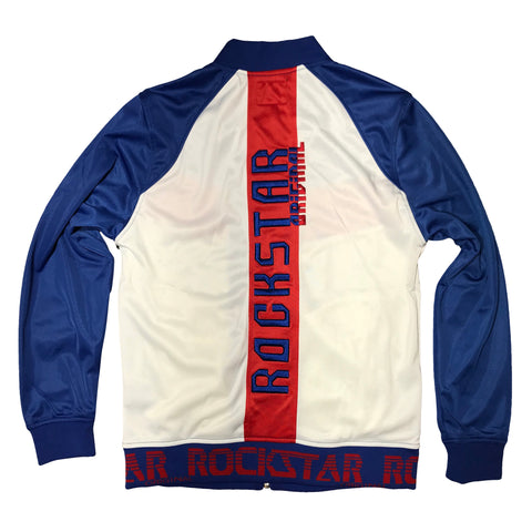 ROCKSTAR JOGGING SUIT ROYAL/WHITE