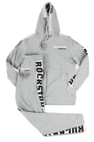 ROCKSTAR ORIGINAL JOGGING SUIT SET SAMMIER - GREY
