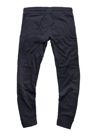 JORDAN CRAIG FRENCH TERRY ESSENTIAL JOGGER SWEATPANTS - 8300 NAVY