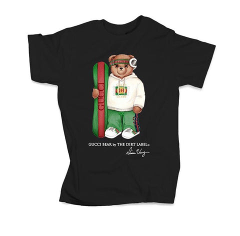 DIRT LABEL GUCCI BEAR T-SHIRT