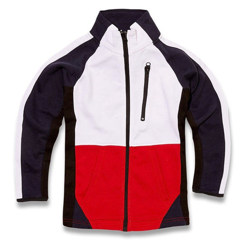 JORDAN CRAIG  ZIP UP TRACK JACKET - 8298TNAVY