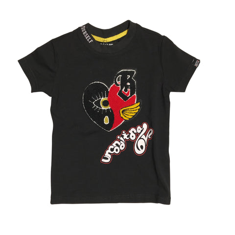 KIDS BKYS T-SHIRT - BLACK