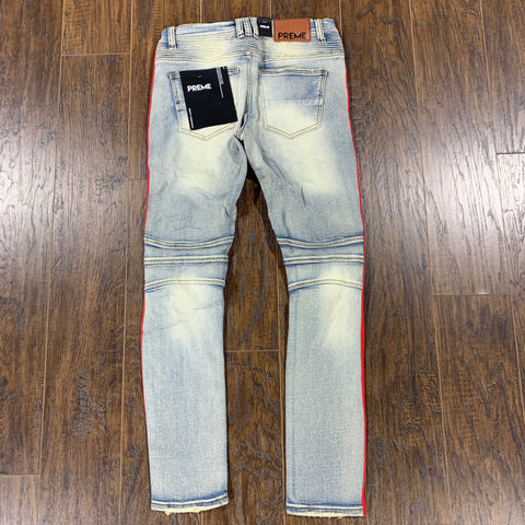 PREME JEAN RUSSELL TAPE RED