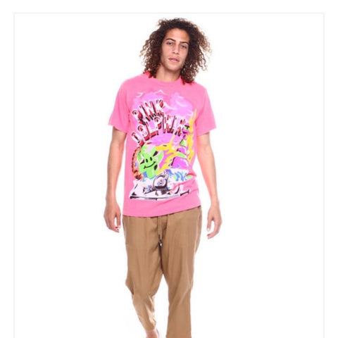 PINK DOLPHIN SUPERFUTURE TEE PINK