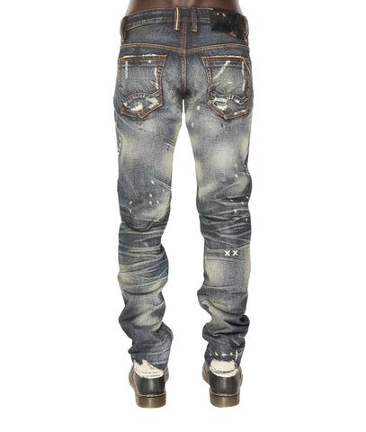 CULT OF INDIVIDUALITY JEAN GREASER SLIM STRAIGHT