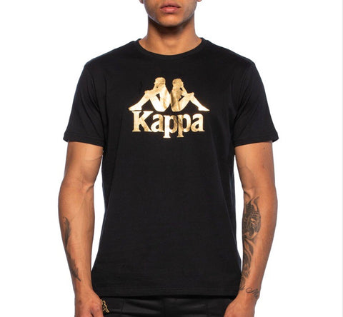 KAPPA AUTHENTIC ESTESSI BLACK/GOLD - 303LARZ0-963