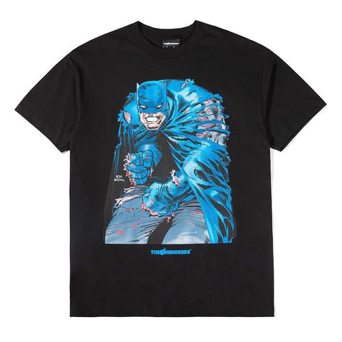 THE HUNDREDS T-SHIRT RIPPING BLACK