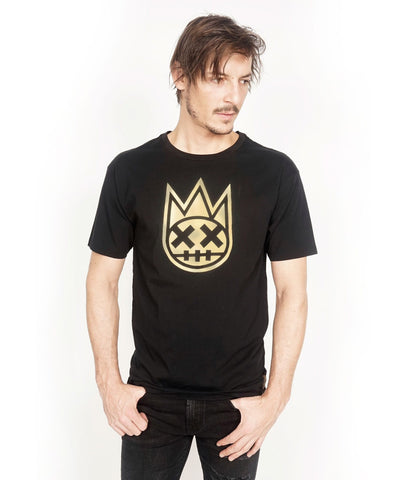 CULT OF INDIVIDUALITY T SHIRT BLACK/GOLD 67B0-K63C