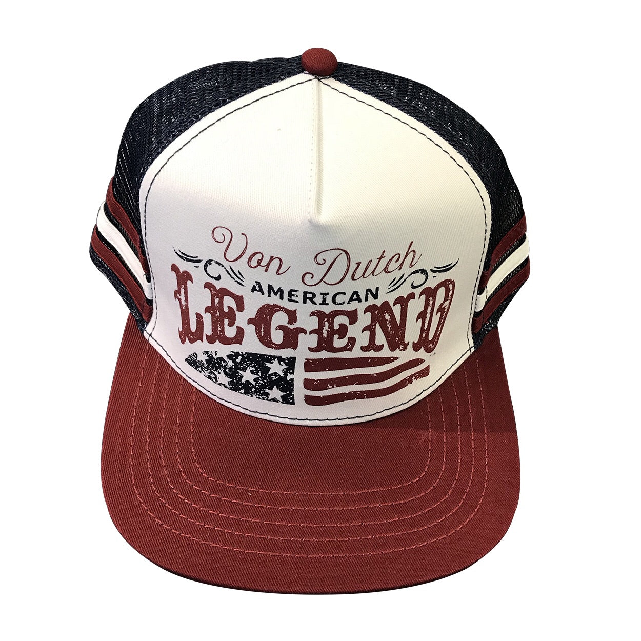 VON DUTCH HAT VDHT60BURNAVY