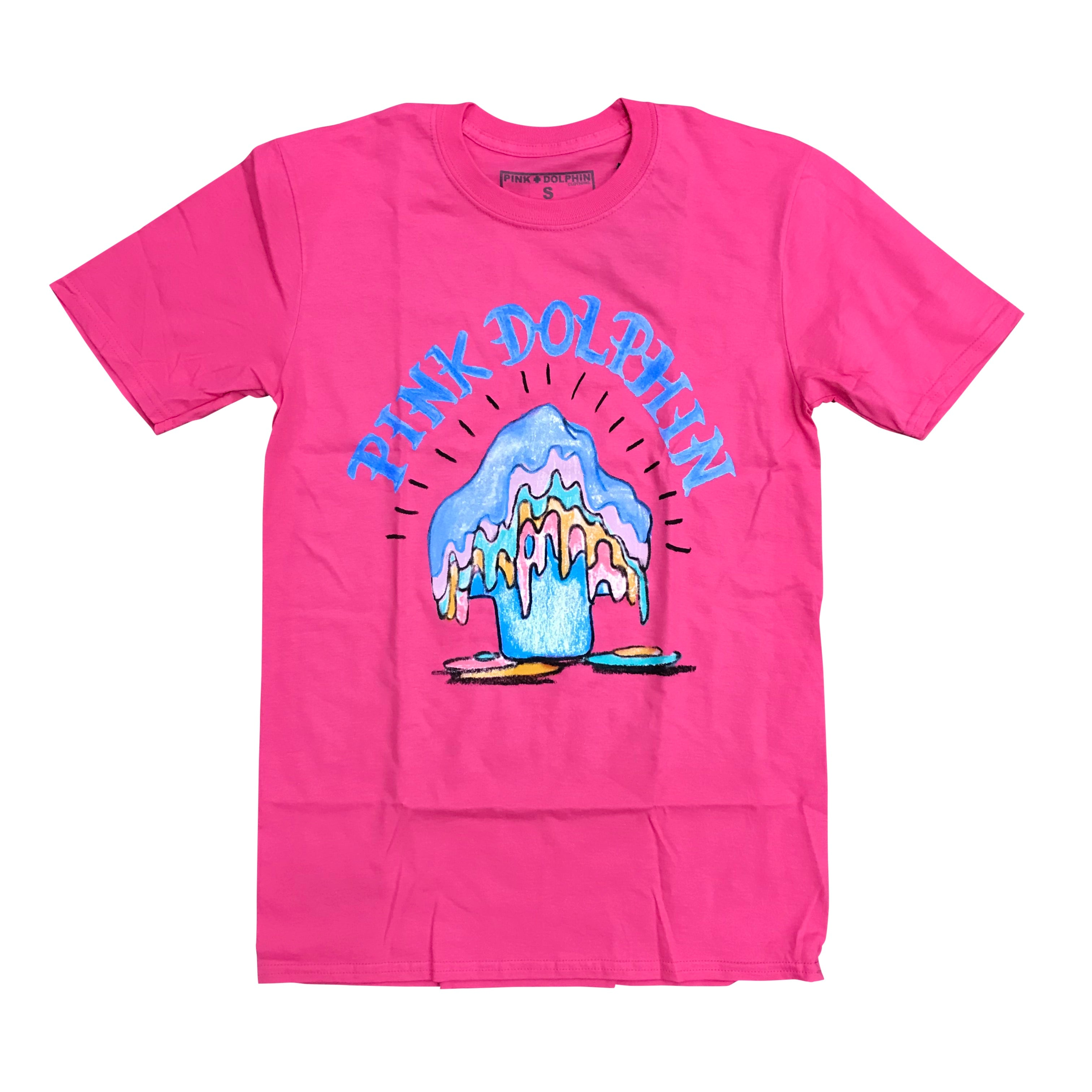 PINK + DOLPHIN CANDLE BRIGHT TEE - PINK SP11911CBPI