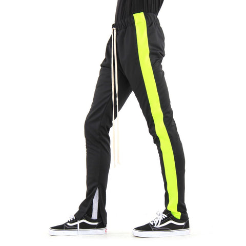 EPTM TRACK PANT BLACK/NEON GREEN EP8450