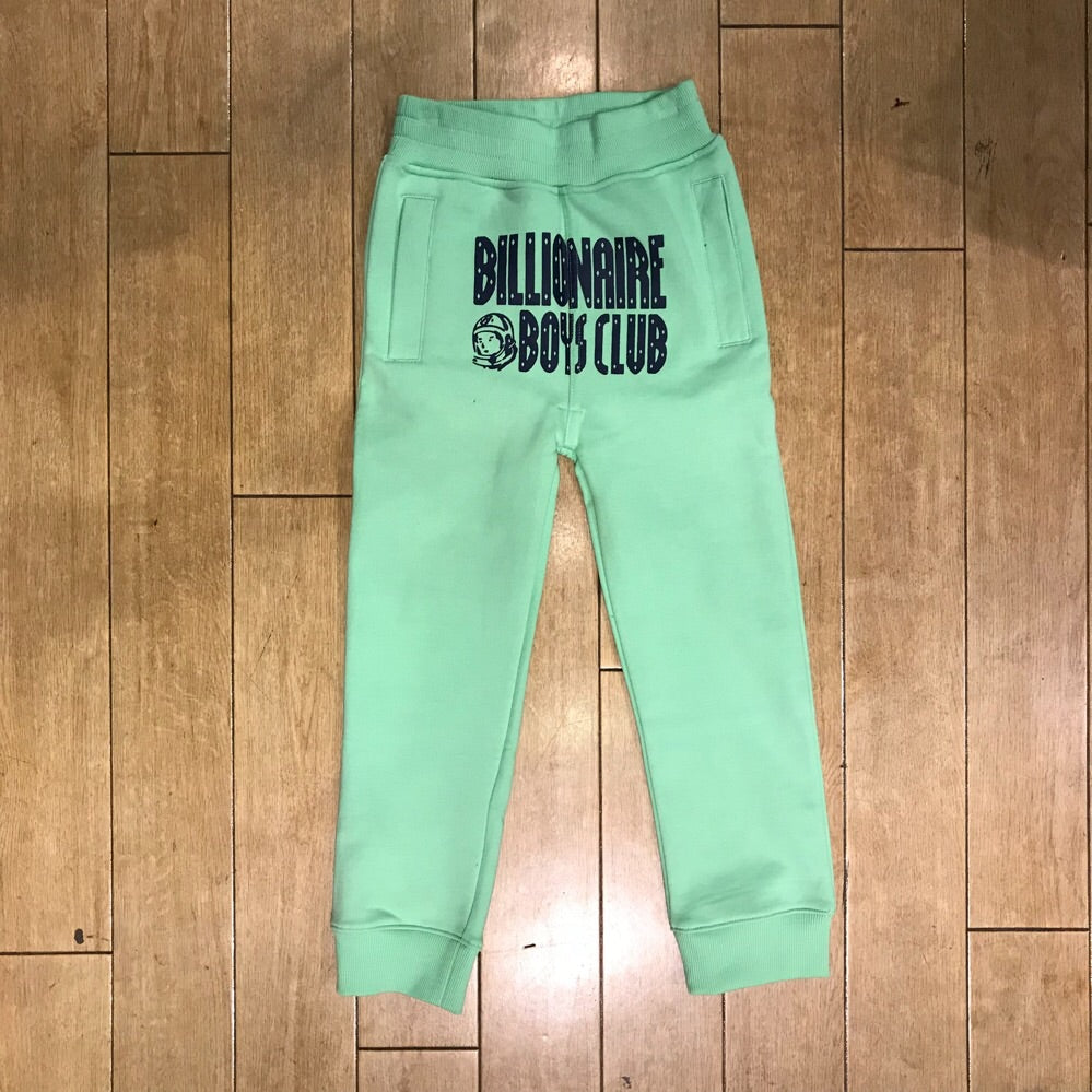 KIDS BILLIONAIRE BOYS CLUB SPACE SCOUT PANTS - GREEN