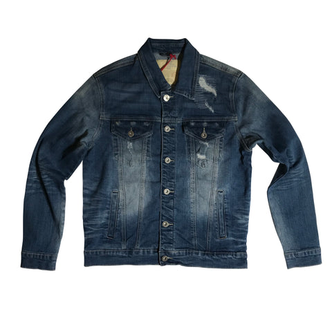 SMOKE RISE DENIM JACKET CLIFBL JJ9036