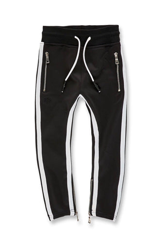 JORDAN CRAIG OXFORD TRACK PANTS - BLACK - 8333