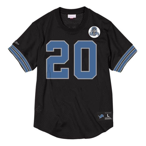 MITCHELL AND NESS LIONS JERSEY BLACK