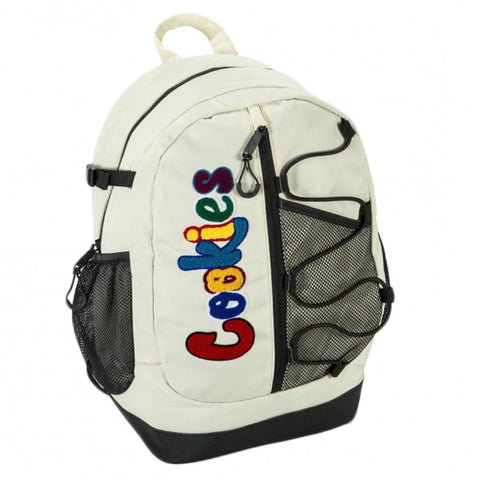 Cookies Smell Proof  Bungee Nylon Back Pack Cream