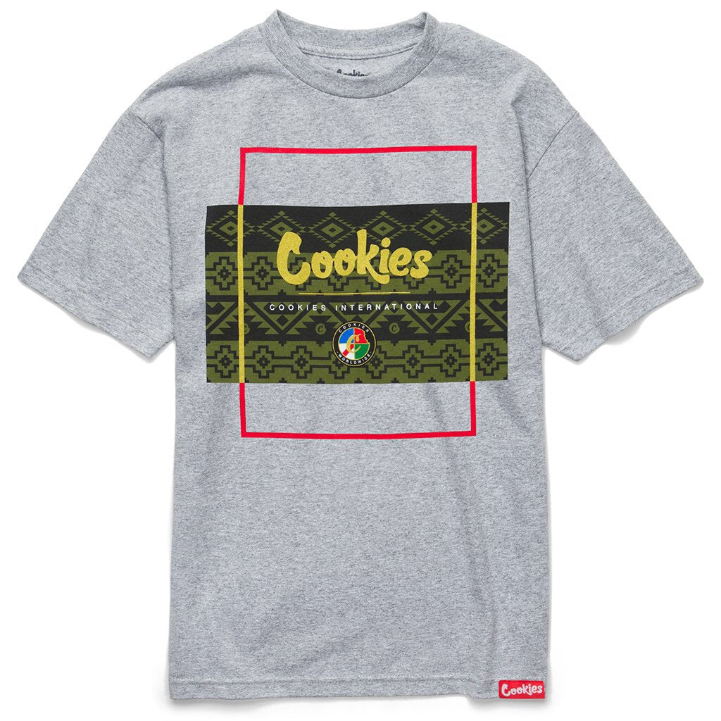 COOKIES TAHOE BOX T-SHIRT GREY