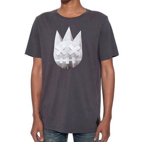 CULT OF INDIVIDUALITY T SHIRT CHARCOAL 69A1-K105A