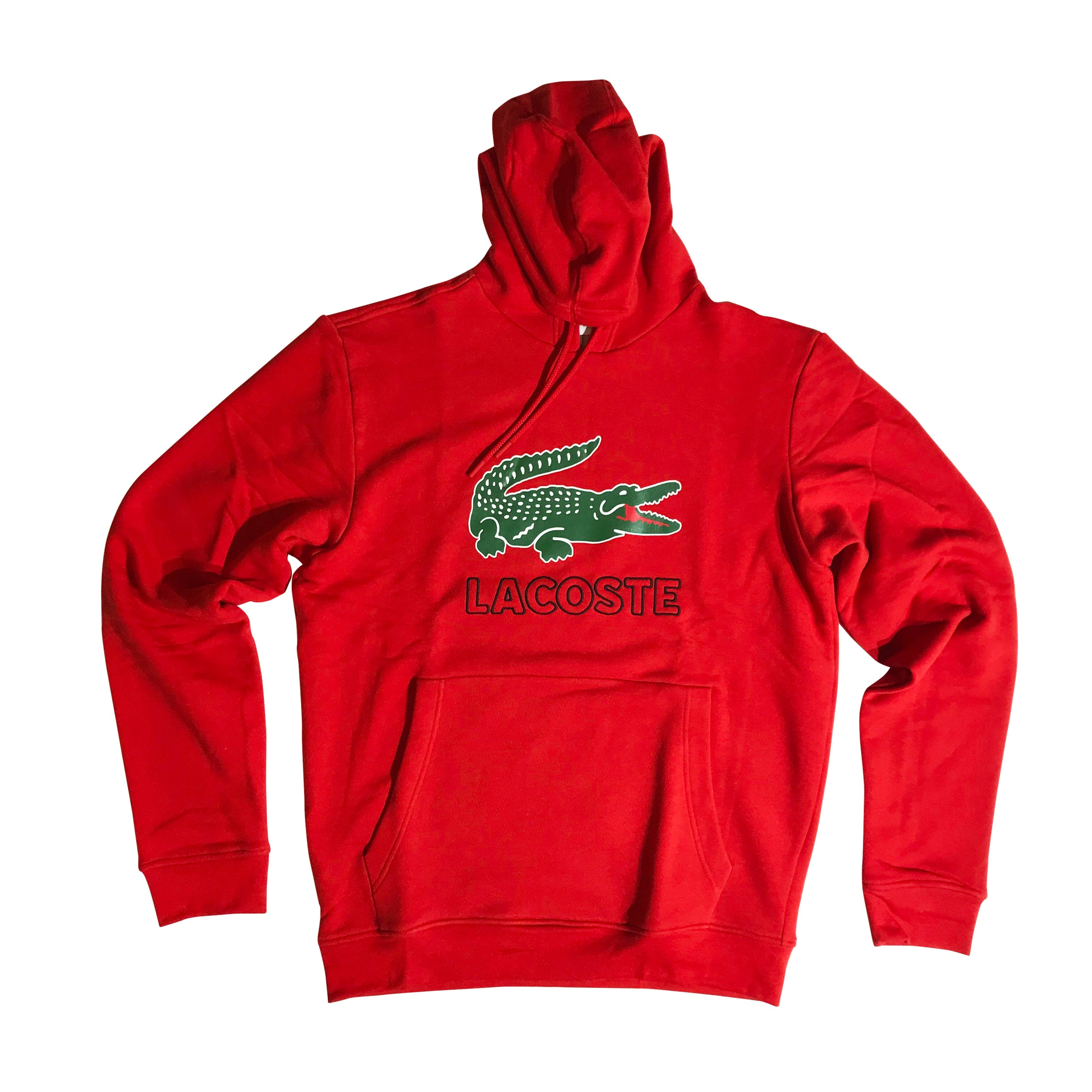 1f12a6ed LACOSTE HOODIE RED SH6342RED
