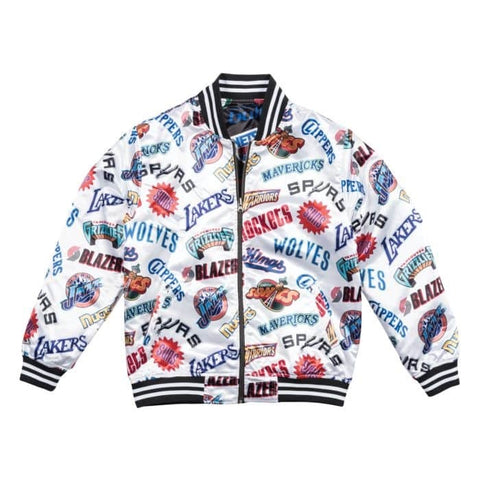 MITCHELL AND NESS REVERSIBLE TEAM JACKET NBAPTWH1