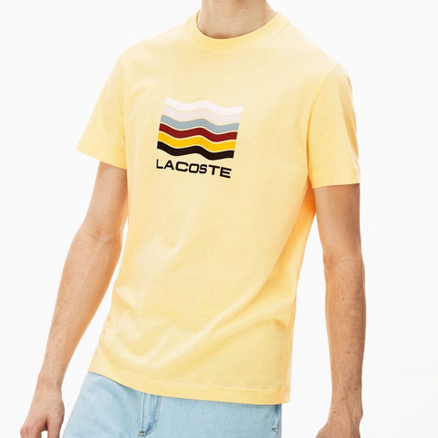 LACOSTE T-SHIRT YELLOW TH4274