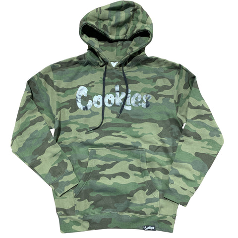 COOKIES HOODY ORIGINAL FLEECE CAMO