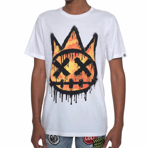 CULT OF INDIVIDUALITY T SHIRT WHITE 69A4-K50A